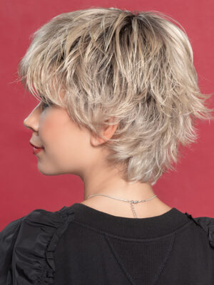 Open | This versatile hair style features a premium synthetic fiber and a monofilament crown