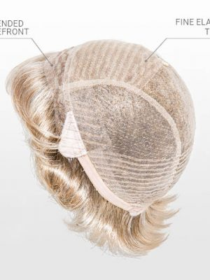 100% HAND MADE CAP | Extended Lace Front | ideal for those of us with sensitive scalps.