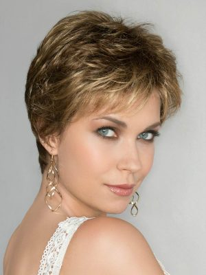 The Hair Society Luxury Collection by Ellen Wille is 100% hand-tied, monofilament, with an exceptional lace front.