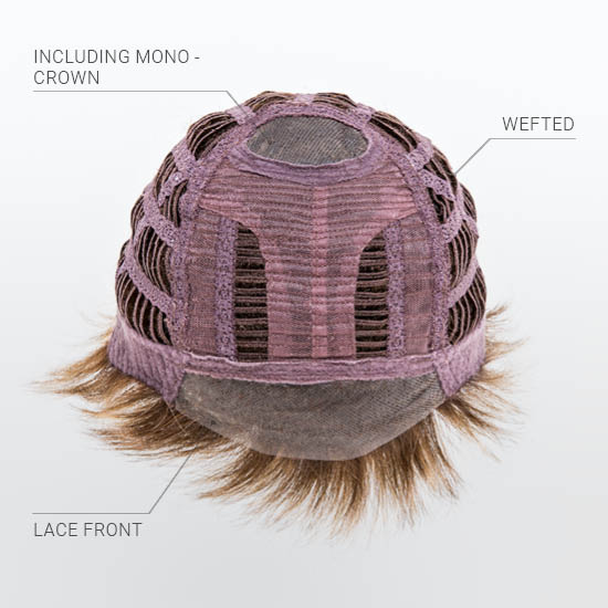 Mono Crown | Lace Front | Wefted CapFront