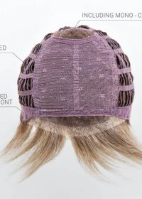 Mono Crown | Extended Lace Front | Wefted cap