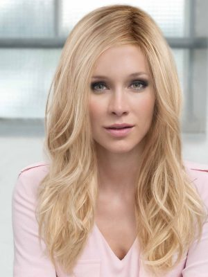 Arrow Wig by Ellen Wille   Long Synthetic Hair Wig   Colour Champagne Rooted   Elly-k.com.au