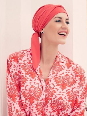 Christine Headwear B.B. BEATRICE TURBAN - Raspberry Red