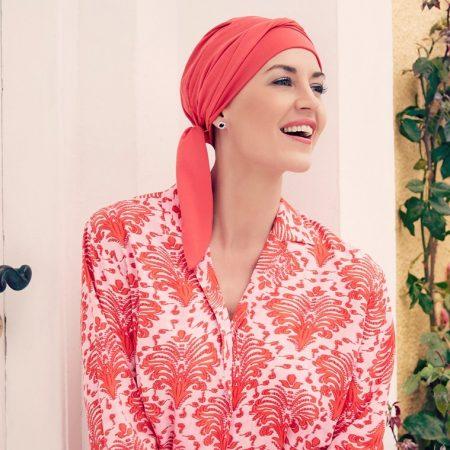Christine Headwear B.B. BEATRICE TURBAN - Raspberry Red
