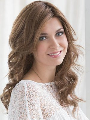 Mocca Rooted   Cascade By Ellen Wille   100% Remy Human Hair