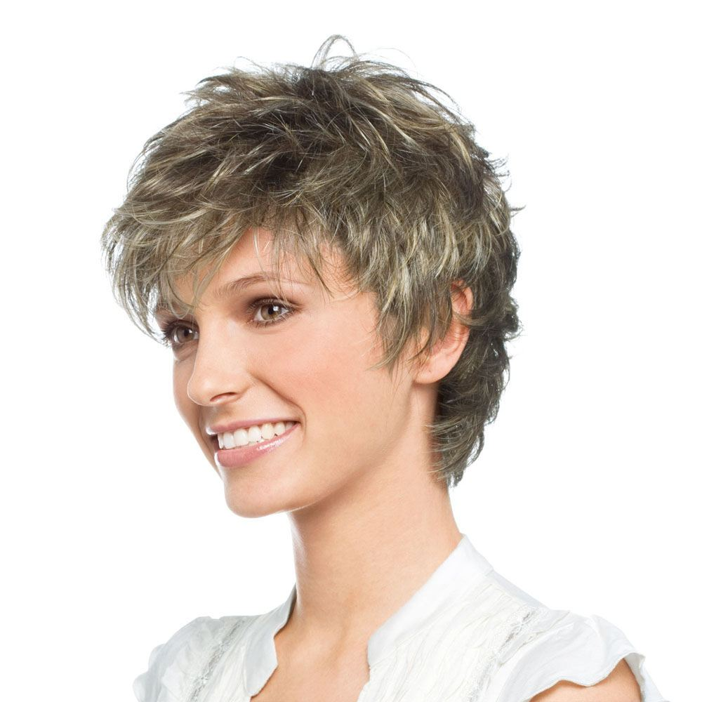 Easy Wig   Synthetic Lace Front Wig (Mono Top) by Ellen Wille