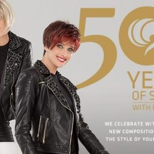The Swing, Blues and Jazz were created to celebrate Ellen's 50 years of designing and is part of the Hair Power Wig Collection