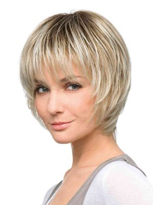 Fashion Deluxe Wig by Ellen Wille | Lace Front | Colour Sandy Blonde Rooted | Luxury Wigs | Elly-K.com.au