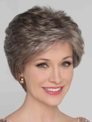Alexis Deluxe | Synthetic Lace Front Wig (100% Hand-Tied) by Ellen Wille | Smoke Mix | Elly-K.com.au
