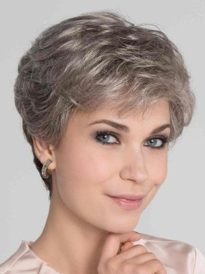 Apart Mono | Synthetic Lace Front Wig (Mono Top) by Ellen Wille | Dark Snow Mix | Elly-K.com.au