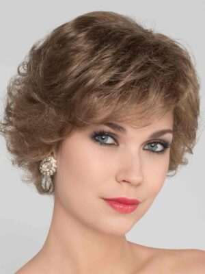 Aurora Comfort | Synthetic Lace Front Wig (100% Hand-Tied) by Ellen Wille | Dark Sand Mix | Elly-K.com.au