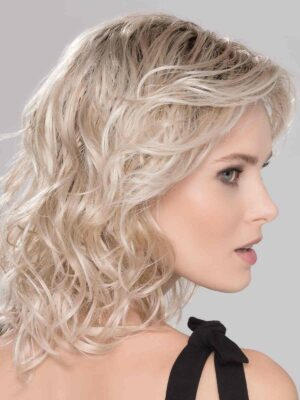 Beach Mono Wig   Monofilament part and temple-to-temple lace front hairline providing a natural look even if you decide to sweep the fringe off of your face