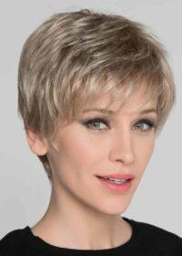 """Carol Mono   Approximate Hair Length: Front: 3.7"""" (9.4cm)   Crown: 4.75"""" (12cm)   Nape: 2"""" (5cm)   Elly-K.com.au"""