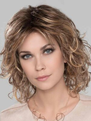 Cat | Synthetic Lace Front Wig (Mono Crown by Ellen Wille | Light Bernstein Rooted | Elly-K.com.au