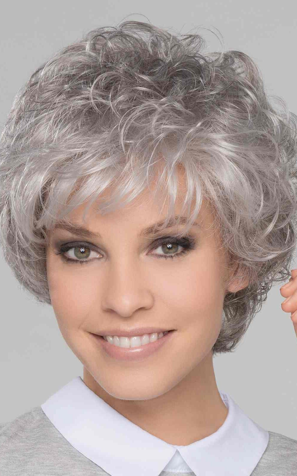 City   Synthetic Lace Front Wig (Wefted Cap) by Ellen Wille   Snow Mix   Elly-K.com.au