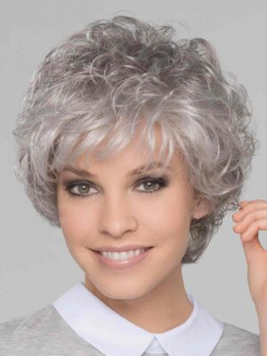 City | Synthetic Lace Front Wig (Wefted Cap) by Ellen Wille | Snow Mix | Elly-K.com.au