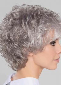City Large | Synthetic Lace Front Wig (Wefted Cap) by Ellen Wille | Snow Mix | Elly-K.com.au