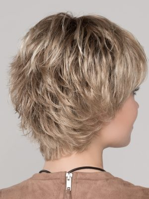 Textured layers at the back – you can tousle or smooth down