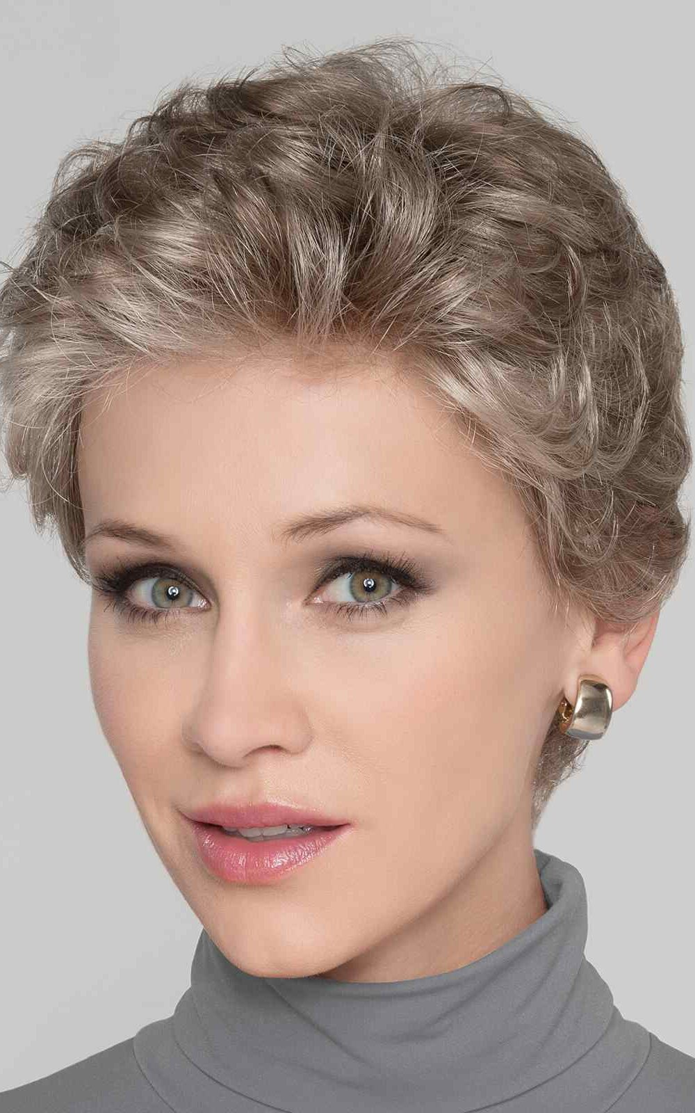 LUCIA by Ellen Wille in Pearl Rooted   A Medium Pearl Grey with a Pearl Brown overtone. Darker roots for a natural look