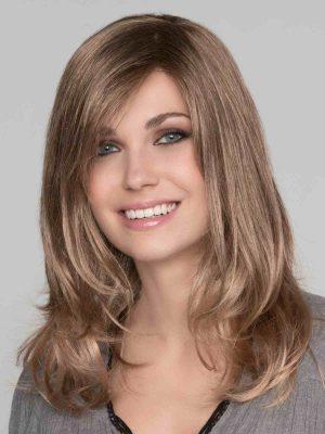 MARUSHA MONO by Ellen Wille in Nougat Mix | Light Brown, Dark Honey Blonde, and Medium to Light Reddish Brown blend