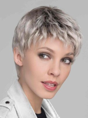 Risk by Ellen Wille | Light Champagne Rooted | Pearl Platinum and Light Golden Blonde Blend with Medium Brown Roots | Elly-K.com.au