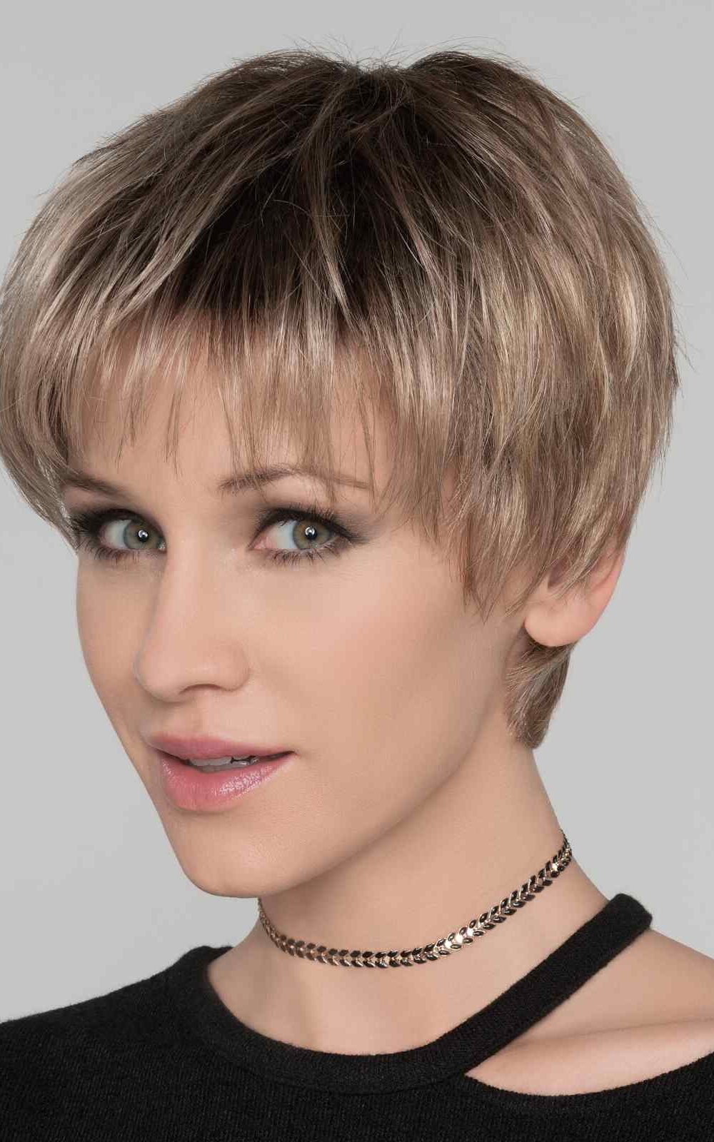 Stop Hi Tec | his look can be easily finger styled to fit a host of different looks. The monofilament top allows the longer front strands to be parted to the left, the right, or in the center.