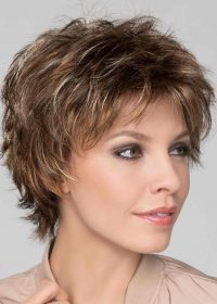 Click Wig by Ellen Wille   Choppy short layered wig, tousled for an edgy style