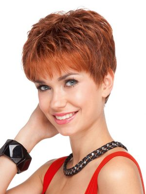 Chip Wig By Ellen Wille | Short Hair Wig | Synthetic Wig | Colour Safran Red Mix | Elly-k.com.au