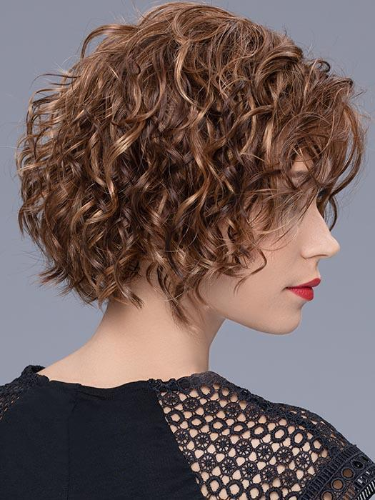 TURN | The synthetic fiber is the highest quality available and imitates natural hair with the right density and a healthy shine.