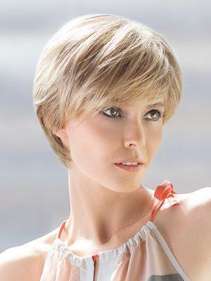 Silk 100% Human Hair Wig | Ellen Wille Wigs | Sandy Blonde Rooted | Elly-K.com.au