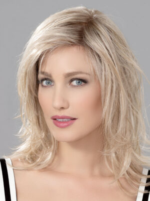 INTEREST | A hand-tied lace part and front add a more natural appearance compared to other, similar wigs.