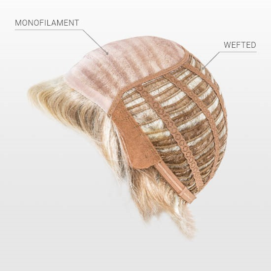Hand Made Monofilament top | Wefted Cap