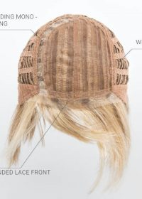 Mono Part | Extended Lace Front | Wefted Cap