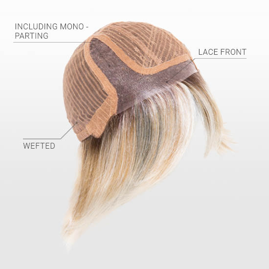 Lace Front | Mono Parting | Wefted Cap