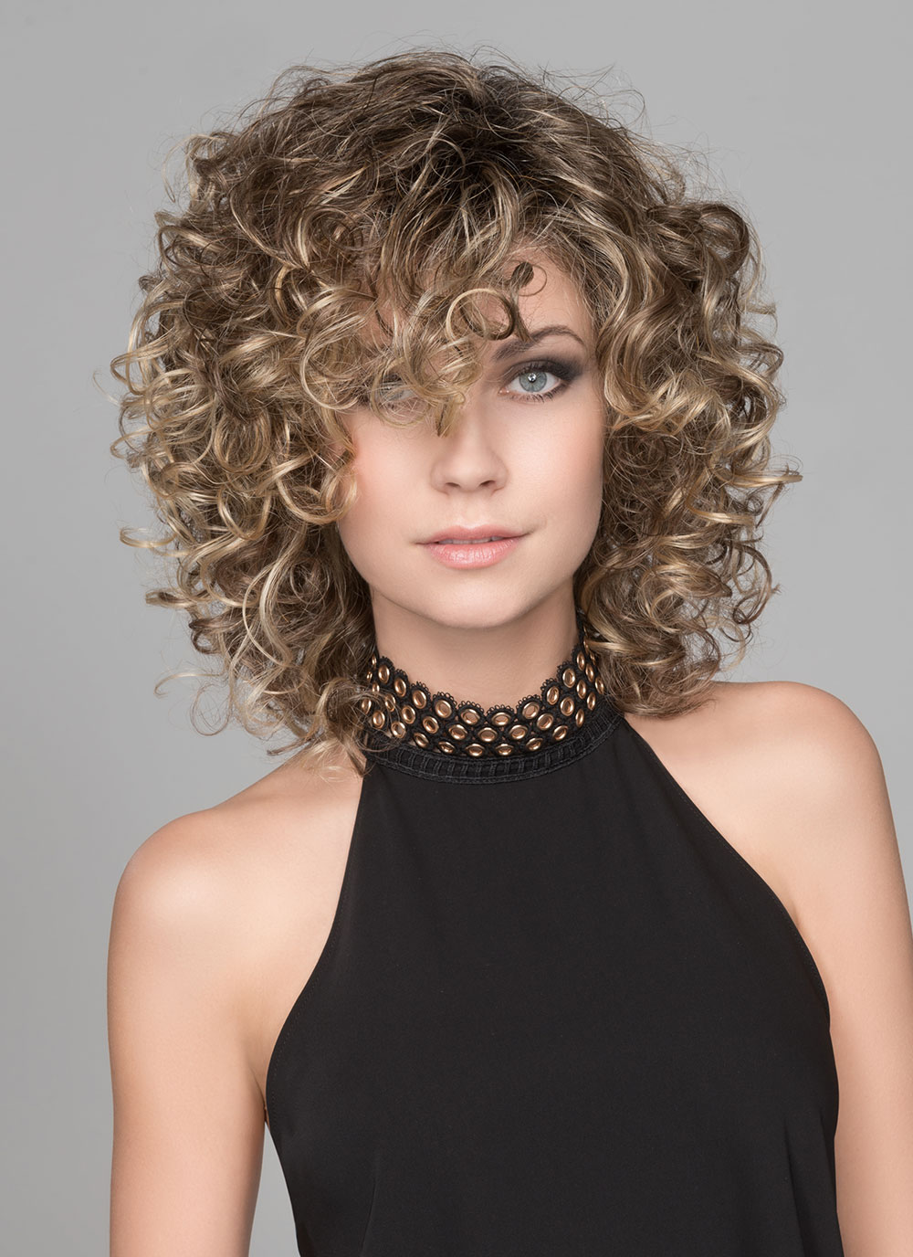 Jamila Plus by Ellen Wille Wigs is a full bodied, beautifully curled wig