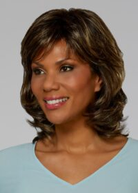 Danielle is a classic style wig with layers all around