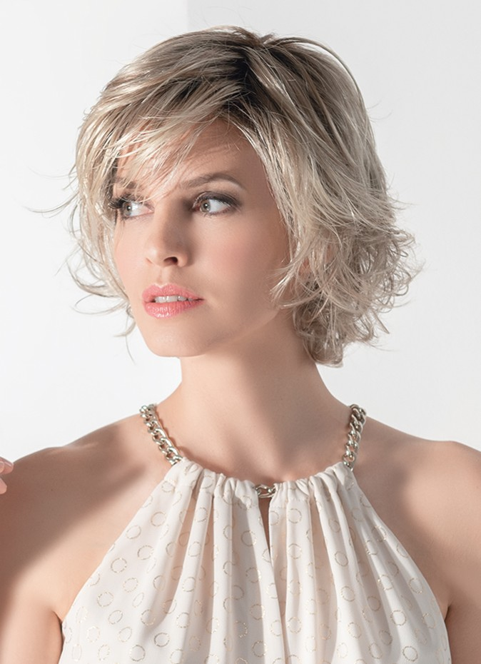 Bloom is a gorgeous collar length style. with an extended  lace front