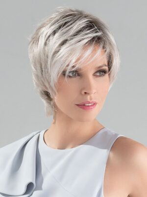 Satin by Ellen Wille in Silver Blonde Rooted