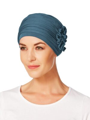 LOTUS TURBAN Ocean Blue 1003-0295