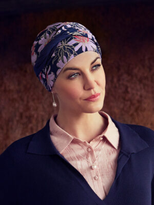 SHAKTI TURBAN Flowering Blues 1418-665