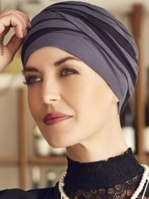 SHANTI TURBAN Mixed Colours Blue/Black 1461-0394