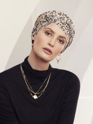 ROSA V TURBAN Twist & Splashes 1471-0677