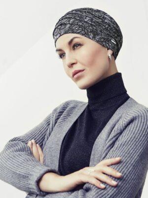 Christine Headwear | YOGA TURBAN Printed - Rococo Lace 2000-0664
