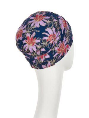 Christine Headwear | YOGA TURBAN Printed Flowering Blues 2000-0665